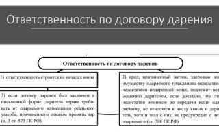 Форма договора дарения — особенности «дарственной»