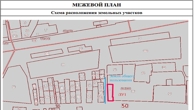 Требования к подготовке межевого плана земельного участка