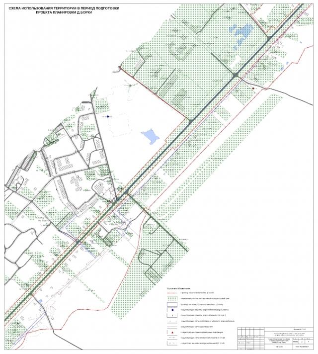 Проект планировки и межевания линейного объекта