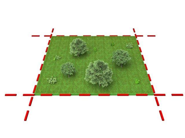 Геодезические системы координат земельного участка