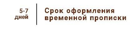 Временная регистрация через МФЦ — порядок оформления