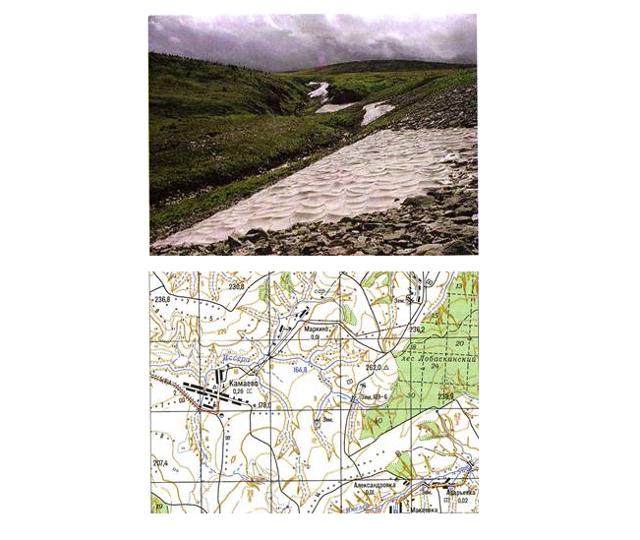 Как на топографической карте прочитать рельеф местности